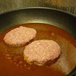 煮込みハンバーグを作った