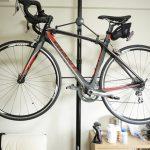 ロードバイクの室内保管方法