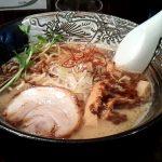 麺が固くてモチモチな天孫降臨へラーメンを食べに行ってきた