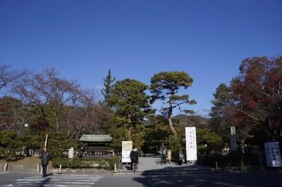 大覚寺入り口
