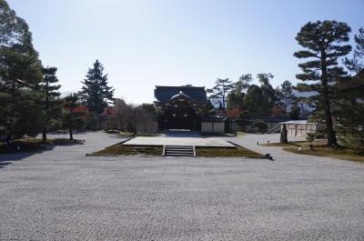 大覚寺の庭