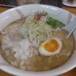 大阪中津の『らーめん 弥七』へラーメンを食べに行ってきた