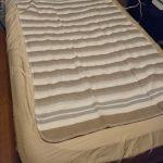 寝る時ように敷き電気毛布を買った