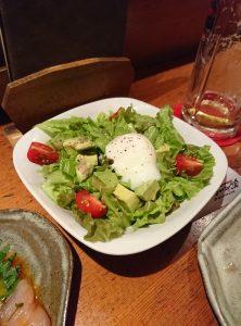 温泉玉子サラダ