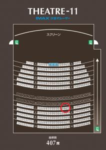 IMAXの席順