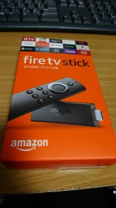 Amazon Fire TV Stick を買った