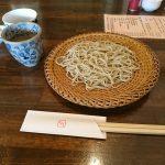 大阪・北浜の笑日志でざるそばを食べてきた