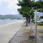 砂浜で例のシャワーを浴びて帰宅の途へ ~九州北部旅行 その8~